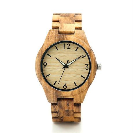 【BOBO BIRD】 シンプル 木製腕時計 クォーツ 木の温もり 自然に優しい天然木 スタイリッシュ
