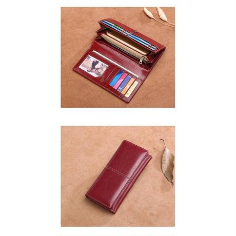 sendefn 4色展開 シンプル長財布