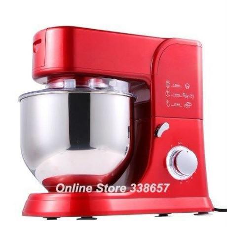 スタンドミキサー 5.5L 1000W 220V 調理 ケーキ生地 パン ミキサー  プロフェッショナルキッチンスタンドミキサー  高品質