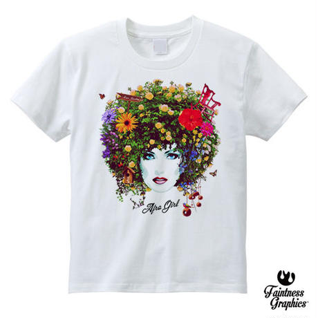 Aflo Girl (アフロガール)  / アートグラフィックTシャツ