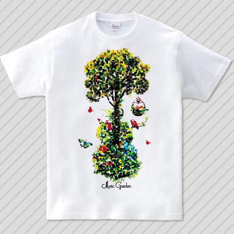 Music Garden 抽象画ver. / グラフィックアートTシャツ