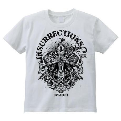 Insurrections / スカルロックTシャツ