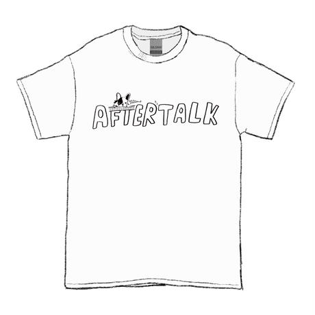 AFTERTALK2 TEE / White