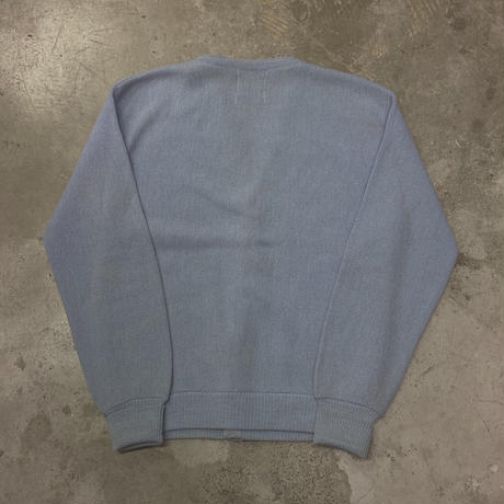 FAJ0851 vintage old acryl cardigan