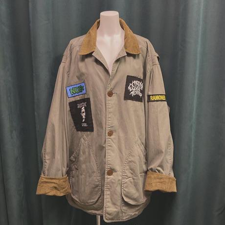 FAJ0842  vintage J.CREW custom hunting jk