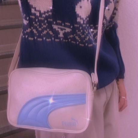 FAJ1341 vintage PUMA shoulder bag