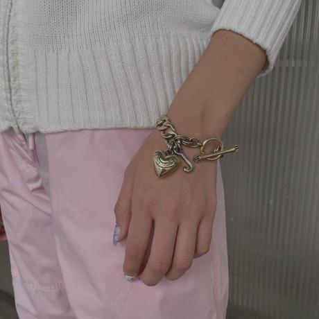 FAJ1333 vintage juicy couture chain bracelet