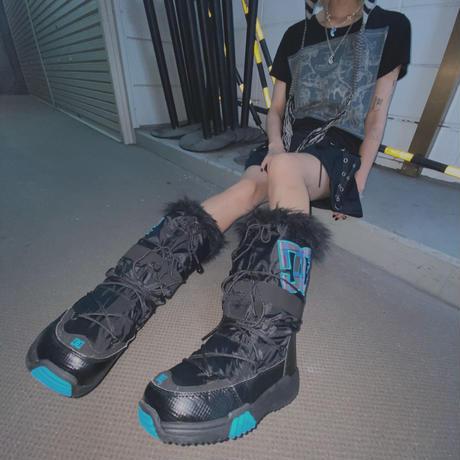 FAJ1326 vintage DC fur snow boots
