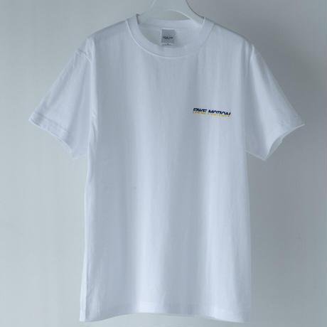 FAKE MOTION シンプルロゴTシャツ  【ホワイト】(F-001)