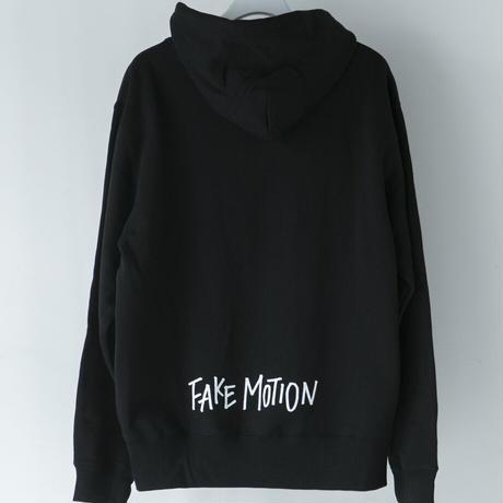 FAKE MOTION オリジナルロゴパーカー【ブラック】(F-012)