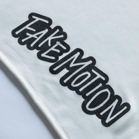 FAKE MOTION オリジナルロゴブランケット【ホワイト】(F-014)