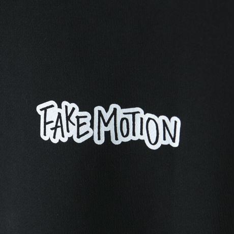 FAKE MOTION オリジナルロゴトレーナー【ブラック】(F-010)