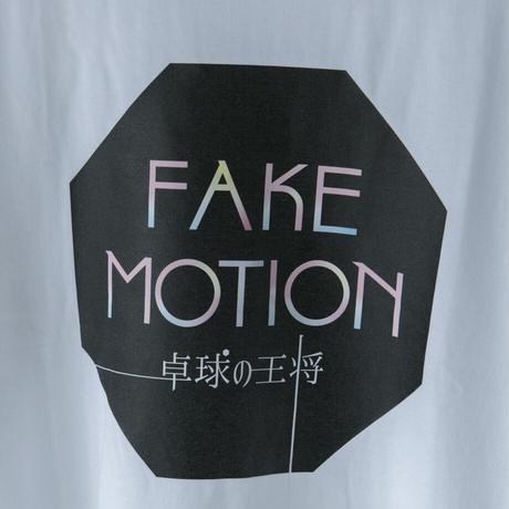 FAKE MOTION ロゴTシャツ【ホワイト】(F-015)