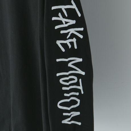 FAKE MOTION オリジナルロンT【ブラック】(F-004)