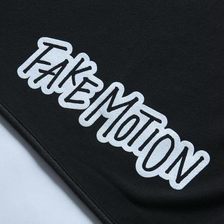FAKE MOTION オリジナルロゴブランケット【ブラック】(F-014)