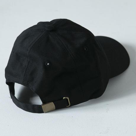 FAKE MOTION 刺繍ロゴCAP【ブラック】(F-016)
