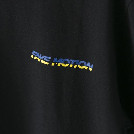 FAKE MOTION シンプルロゴTシャツ【ブラック】(F-001)