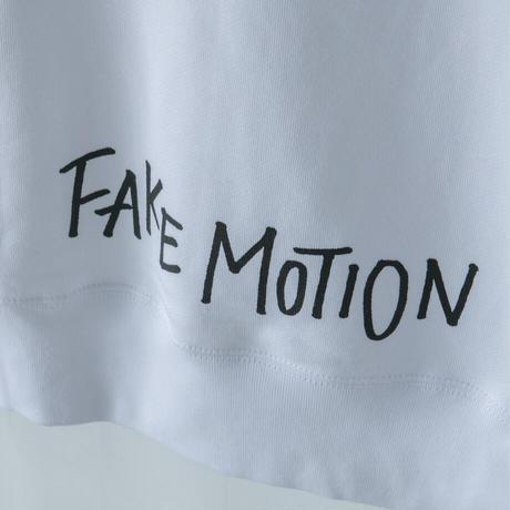 FAKE MOTION オリジナルロゴパーカー【ホワイト】(F-012)