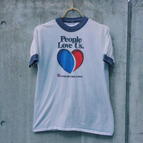 LOP1701203  vintage  People Love Us Tシャツ