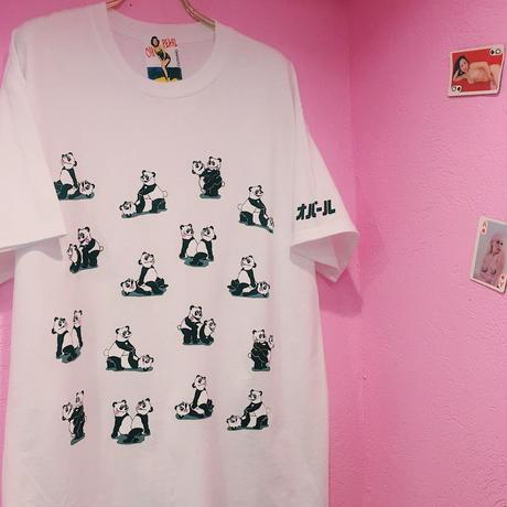 PA30039  エッチなパンダさん半袖T-shirts