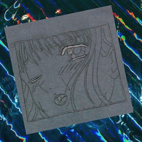 PT20004 アへ顔少女刺繍ロンTEE