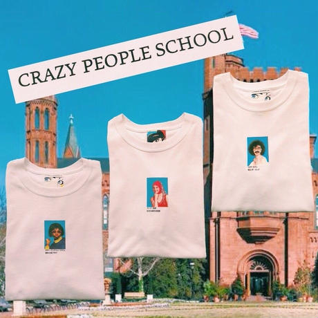 PA30603 CRAZY PEOPLE SCHOOL TEE
