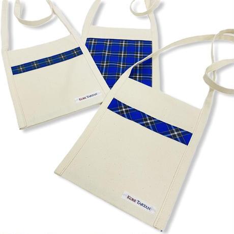 神戸タータン 帆布サコッシュ