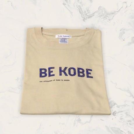 BE KOBE×KOBE TARTAN  Tシャツ ベージュ