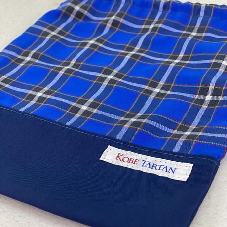 神戸タータン 巾着袋