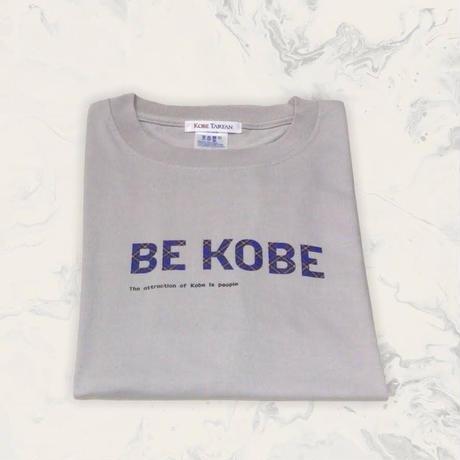 BE KOBE×KOBE TARTAN  Tシャツ グレー