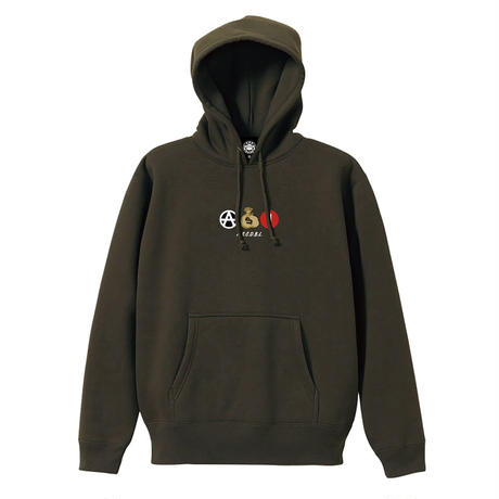 ICONS PULLOVER (OLIVE) / LAST ONLY ( XL size )