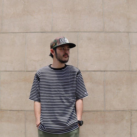 AS RIB BORDER TEE (NAVY)