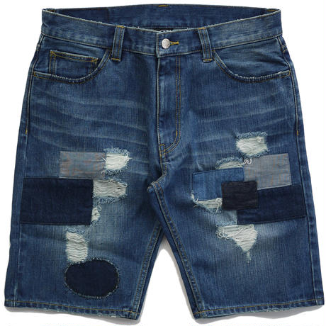 SUNS FARM DENIM SHORT ( REPAIR Color )