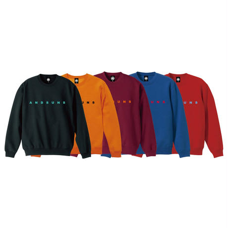 ANDSUNS CREWNECK (RED) / LAST ONLY  ( 2XL size )