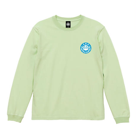 TEAM ANDSUNS LS TEE (LIME) / LAST ONLY  ( XL )