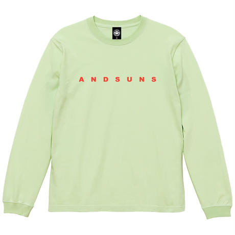 ANDSUNS LS TEE (LIME) / LAST ONLY ( 2XL )