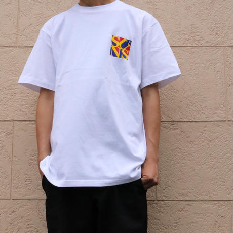 POP SUNS TEE (WHITE) / Last Only M size