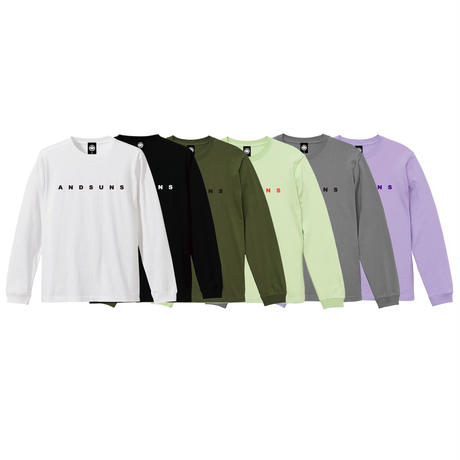 ANDSUNS LS TEE (BEIGE) / LAST ONLY ( L )