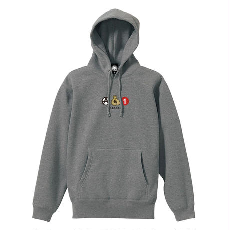 ICONS PULLOVER (HEATHER GREY) / LAST ONLY ( L size )