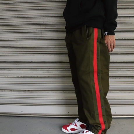 SAILOR WARM UP PANT (BLACK)