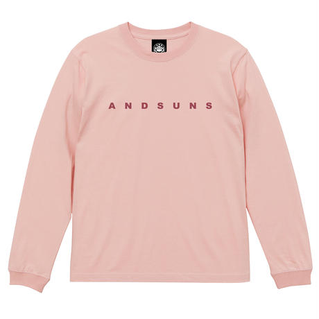 ANDSUNS LS TEE (CORAL) / LAST ONLY ( M )