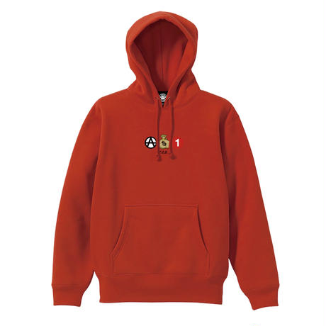 ICONS PULLOVER (RED) / LAST ONLY ( XL size )