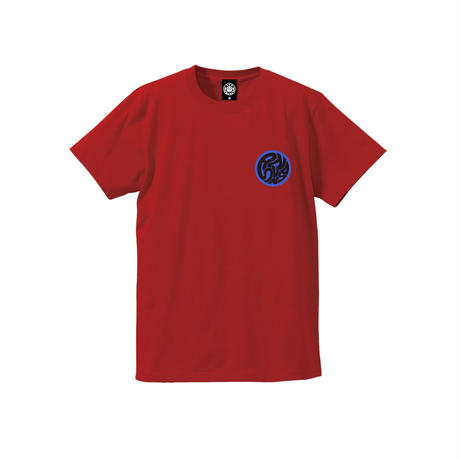 SWIRLING SUNS SS TEE (RED)  / Last Only XL size