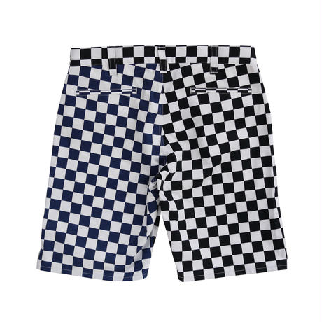 CHECKER SUNS SHORTS (BLACK)