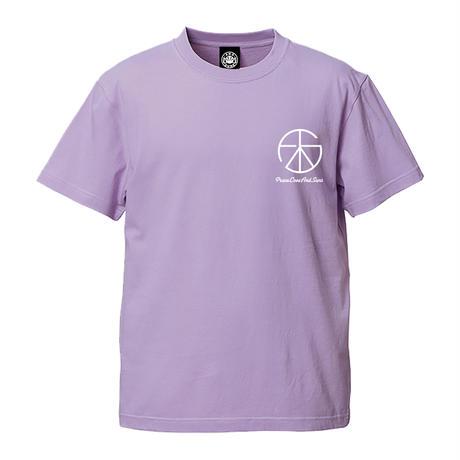 PEACE LOVE TEE (LT.PURPLE) / Last Only XL size