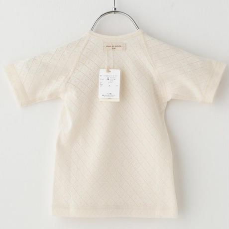 SENSE OF WONDER センスオブワンダー オーガニックコットン 日本製 野イチゴ 刺繍 短肌着