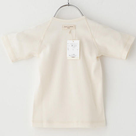 SENSE OF WONDER センスオブワンダー オーガニックコットン 日本製 クローバー 刺繍 短肌着