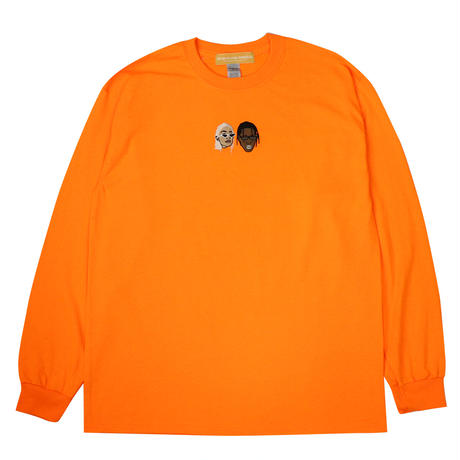 KJTS L/S TEE SAFETY ORANGE