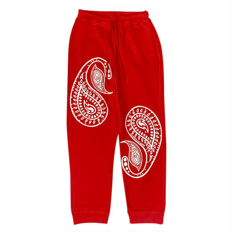 PAISLEY SET RED