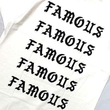 FamousBear S/S TEE WHITE